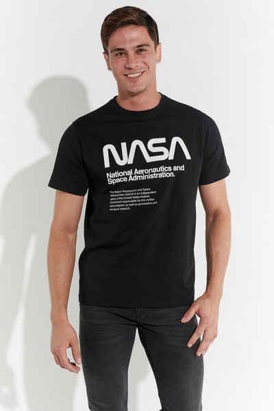 COURSE T-Shirt Nasa-Logo Print