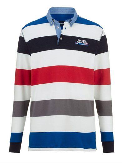 Babista Sweatshirt mit Denim-Kontrasten
