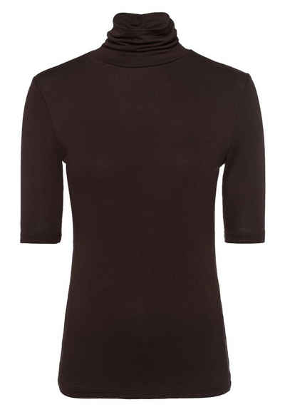 Zero T-Shirt »mit Rollkragen« Plain/ohne Details