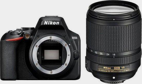 »D3500 KIT AF-S DX 18-140 mm 1:3.5-5.6G ED VR« Spiegelreflexkamera (AF-S DX NIKKOR 18-140mm 1:3,5-5,6G ED VR, 24,2 MP, Bluetooth)