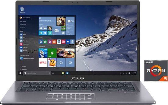 Asus D415DA-BV414T Notebook (35,56 cm/14 Zoll, AMD Ryzen 3, 256 GB SSD)