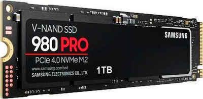 Samsung »980 PRO NVMe M.2« interne SSD (1 TB) 7000 MB/S Lesegeschwindigkeit, 5000 MB/S Schreibgeschwindigkeit)