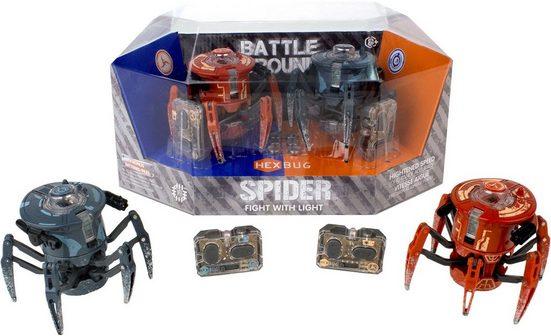 Hexbug RC-Roboter »Battle Ground Spider 2.0 Twin Pack« (Set, 2-tlg)