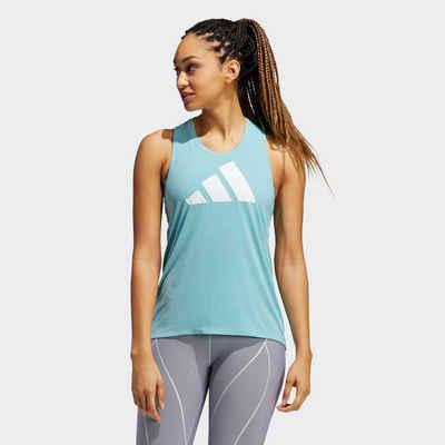 adidas Performance Shirttop »3-Streifen Logo Tanktop«