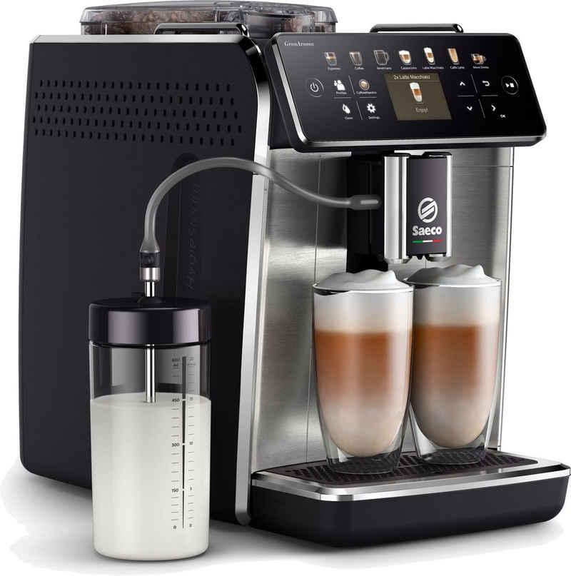 Saeco Kaffeevollautomat GranAroma SM6585/00, individuelle Personalisierung mit CoffeeMaestro, 16 Kaffeespezialitäten