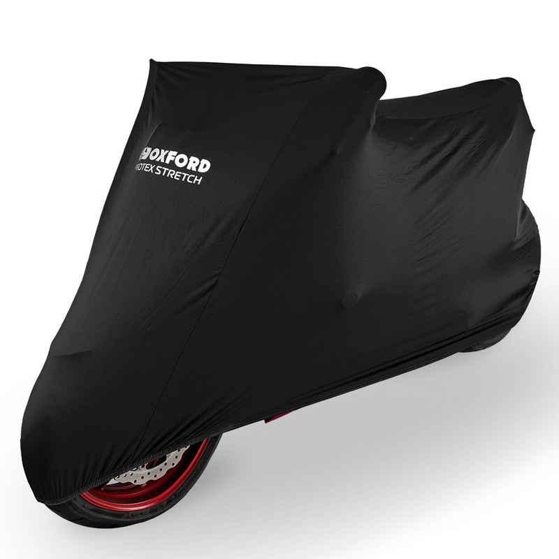 OXFORD Faltgarage »Protex Stretch Indoor-Abdeckplane für Motorrad Schwarz XL«