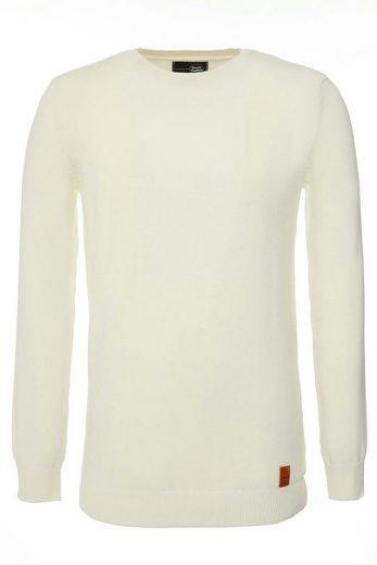 Tazzio V-Ausschnitt-Pullover, Strickpullover »401« zeitloser Feinstrick Pullover