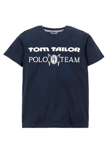 TOM TAILOR Polo Team T-Shirt bedruckt