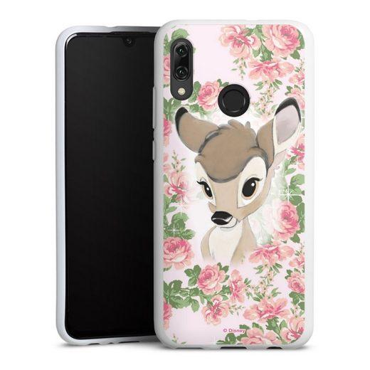 DeinDesign Handyhülle »Bambi Flower Child« Huawei Honor 10 Lite, Hülle Bambi Disney Offizielles Lizenzprodukt