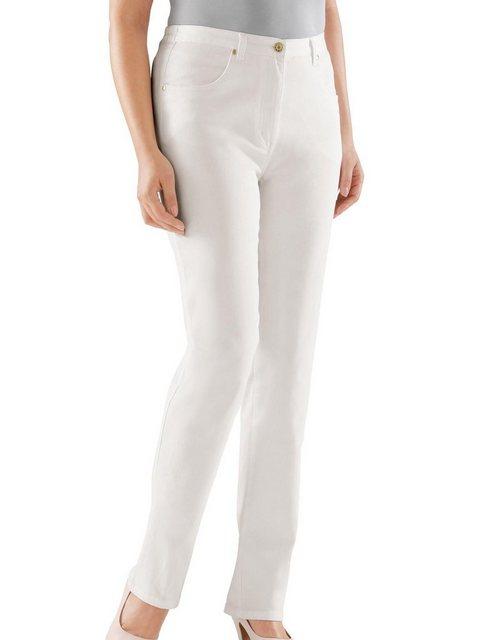 Hosen - Classic Bequeme Jeans › weiß  - Onlineshop OTTO