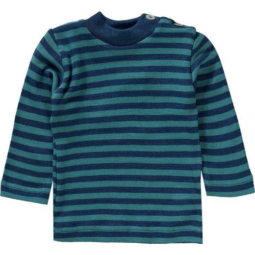 Engel Langarmshirt »Baby Langarmshirt für Mädchen Wolle/Seide«