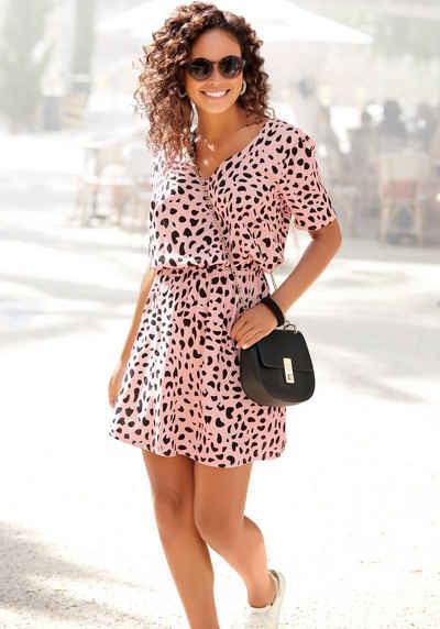 Buffalo Sommerkleid mit Tupfenprint