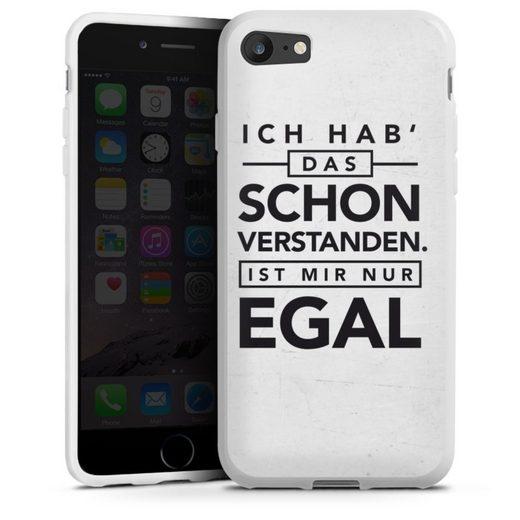 DeinDesign Handyhülle »Schon verstanden« Apple iPhone 7, Hülle Sprüche Statement Antivalentinstag