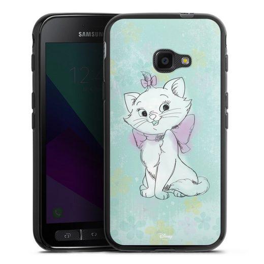 DeinDesign Handyhülle »Marie Watercolor« Samsung Galaxy Xcover 4, Hülle Aristocats Marie Disney Offizielles Lizenzprodukt