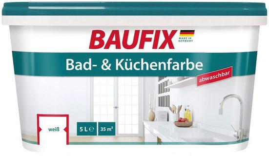 baufix wand und deckenfarbe »bad und küchenfarbe