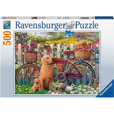 Ravensburger Puzzle »Ausflug ins Grüne, 500 Teile«, Puzzleteile