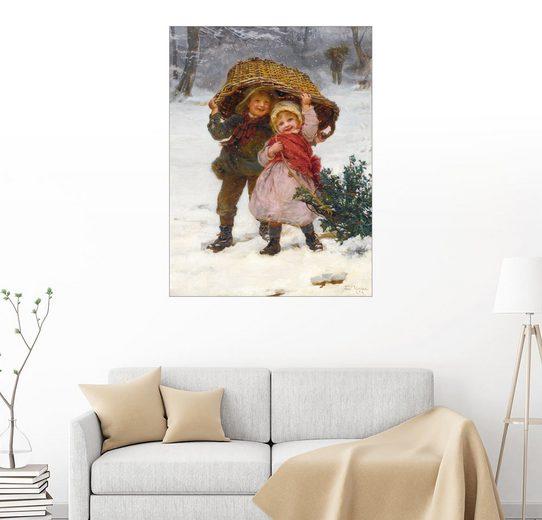 Posterlounge Wandbild, Weihnachtszeit