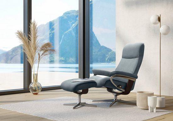 Stressless® Relaxsessel »View«, mit Cross Base, Größe S, M & L, Gestell Braun