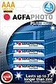 AgfaPhoto »Batterie Alkaline, Micro, AAA, LR03, 1.5V, Platinum, Karton (48-Pack)« Batterie, Bild 2