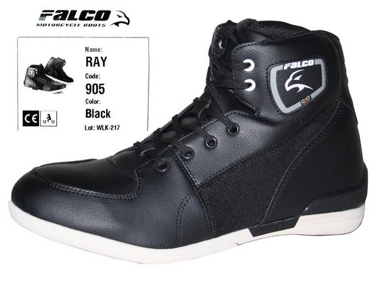 Falco »Ray« Schnürstiefelette Falco Ray Motorradstiefel Schuhe Herren Kurzstiefel Stiefeletten Sneaker