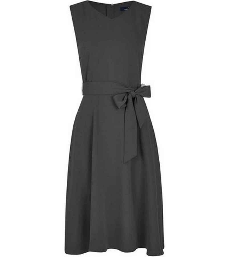 Daniel Hechter Sommerkleid »DANIEL HECHTER Cocktail-Kleid luftiges Damen Sommer-Kleid mit modischem Bindeband Party-Kleid Schwarz«