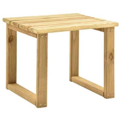 vidaXL Gartentisch »vidaXL Tisch für Sonnenliege 30x30x26 cm Imprägniertes Kiefernholz«