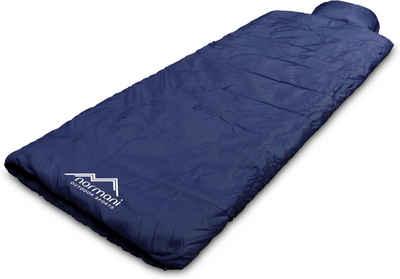 normani Deckenschlafsack »Pilotenschlafsack Traveller«, Einzel Schlafsack mit integriertem Kopfkissen