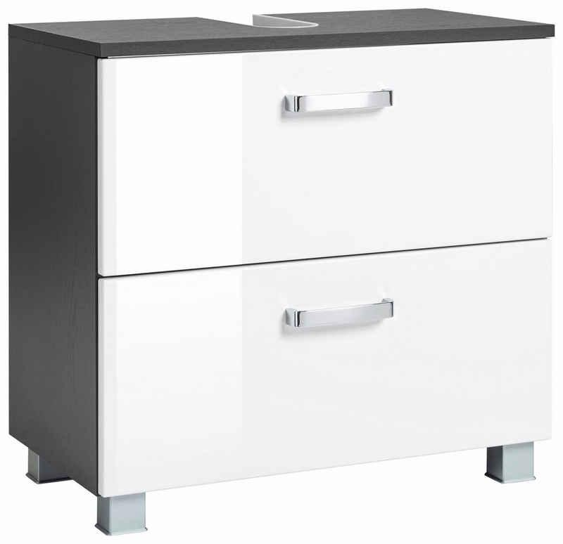 HELD MÖBEL Waschbeckenunterschrank »Ravenna« Breite 60 cm, mit Soft-Close-Funktion