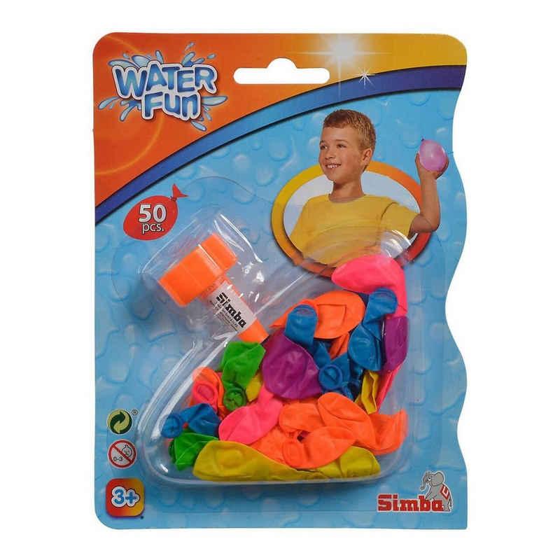 SIMBA Wasserbombe »Simba 107792305 - Water Fun - Wasserbomben, 50 Stück«
