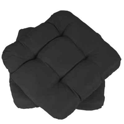 MCW Sitzkissen »Milano-2«, 2-er Set, Leicht glänzende Oberfläche, 4 Punktsteppung, Sehr bequem dank dickem Polster
