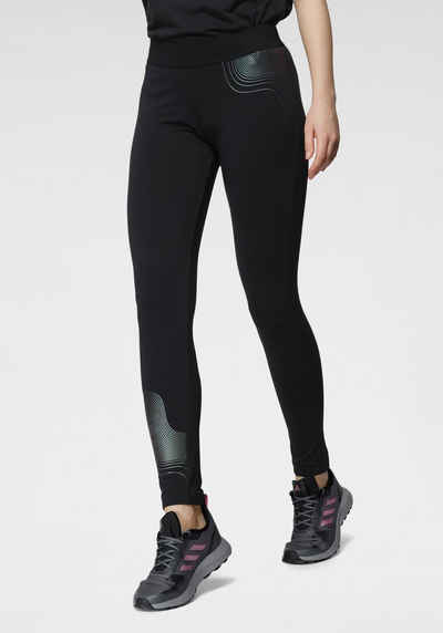 adidas Performance Leggings »HOLIDAY SHINE GRAPHIC TIGHT«