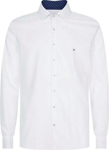 Calvin Klein Businesshemd »CONTRAST PRINT SLIM SHIRT«