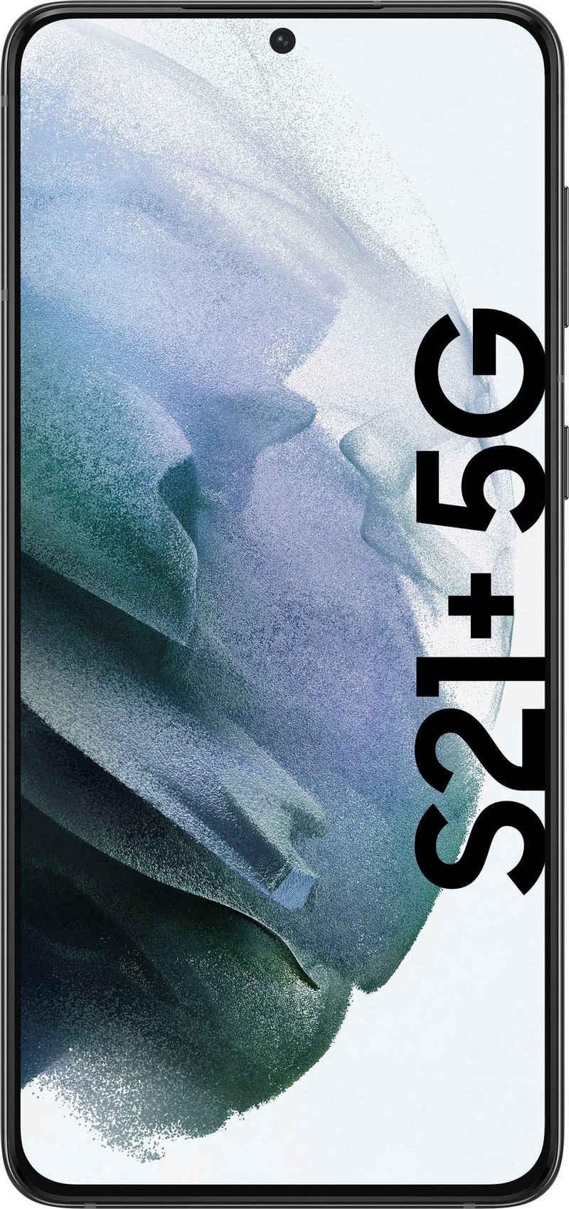 Samsung Galaxy S21+ 5G Smartphone (16,95 cm/6,7 Zoll, 128 GB Speicherplatz, 64 MP Kamera, 3 Jahre Garantie)