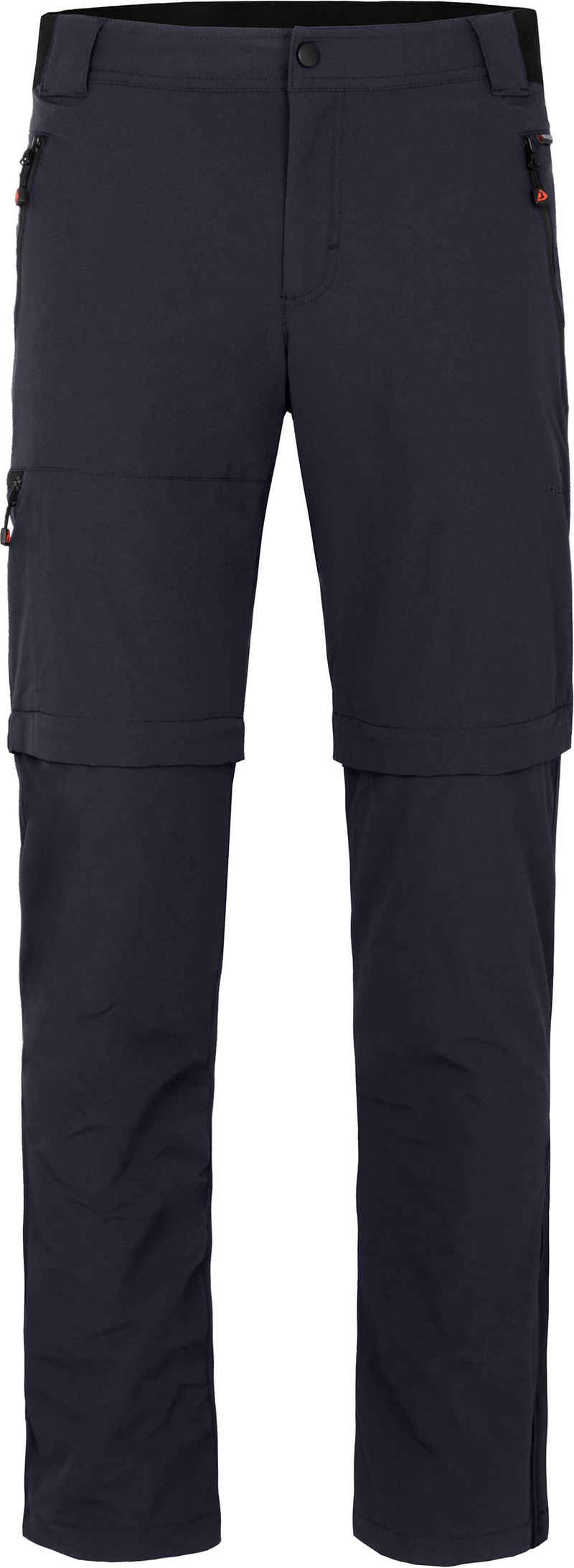 Bergson Zip-off-Hose »ARRESÖ COMFORT Zipp Off« Herren Wanderhose, leicht, strapazierfähig, Normalgrößen, Nacht blau
