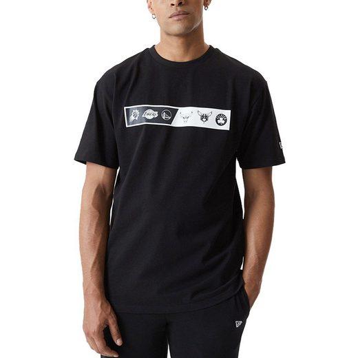 New Era Print-Shirt »Oversized NBA EASTWEST COAST«