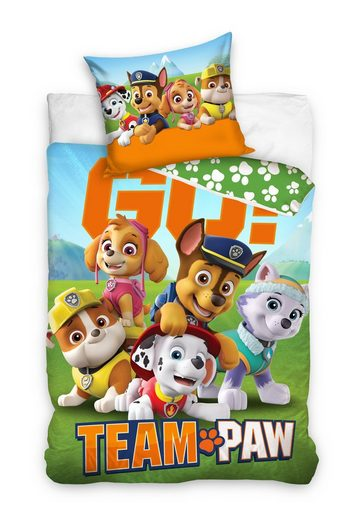 Kinderbettwäsche »TEAM GO«, PAW PATROL, Chase, Marshall and friends