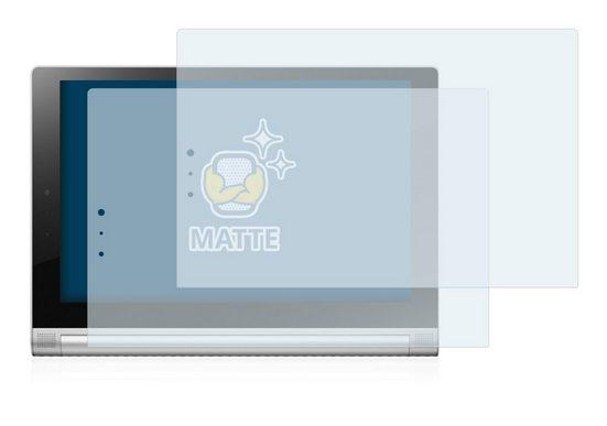BROTECT Schutzfolie »für Lenovo Yoga Tablet 2 10.1 2-1050L«, (2 Stück), Folie Schutzfolie matt entspiegelt