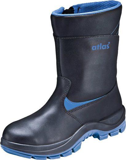 Atlas Schuhe »Anatomic BAU 800 XP« Sicherheitsstiefel Sicherheitsklasse S3, warm gefüttert