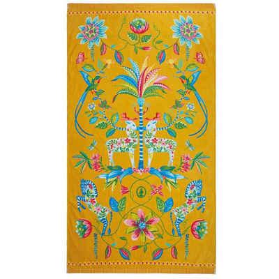 PiP Studio Handtuch »Curio; Strandtuch / Badetuch / Saunatuch in 100 x 180 cm; mehrfarbiges, verspieltes Muster«