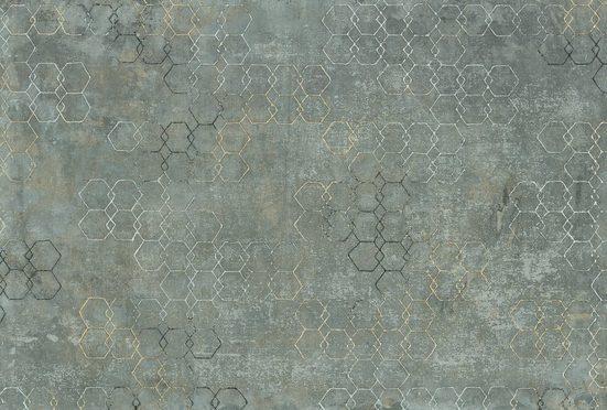 Architects Paper Fototapete »Atelier 47 Hexagon Art 1«, glatt, geometrisch, (4 St)