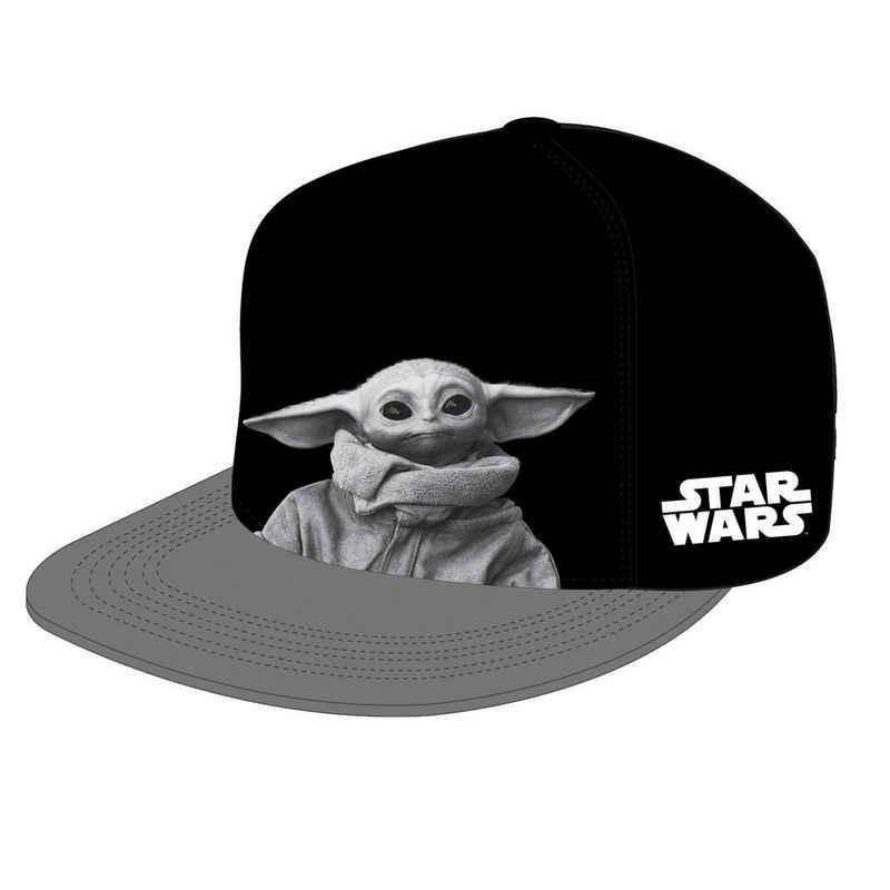 Star Wars Flat Cap »The Mandalorian Basecap Baby Yoda Portrait«