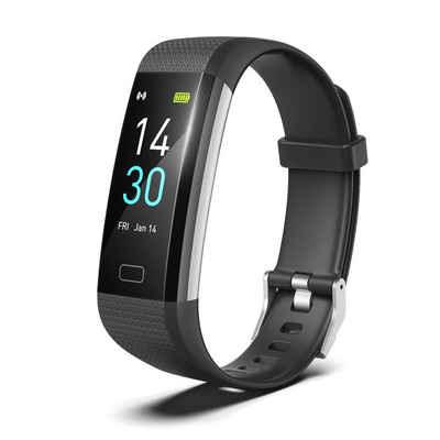 Hi5 Fitness-Tracker »S5 Fitness Armband Fitness Tracker Uhr IP68 Wasserdicht Aktivitätstracker mit Herzfrequenz, Schlafmonitor, Bewegungserinnerung, Kalorienzähler und Benachrichtigungserinnerung«