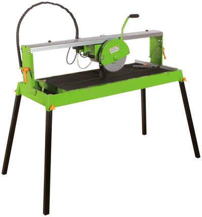 ZIPPER Fliesenschneidemaschine »ZI-FS250«, Tischgröße: 109x50 cm, inkl. Diamant-Trennscheibe und Tauchpumpe