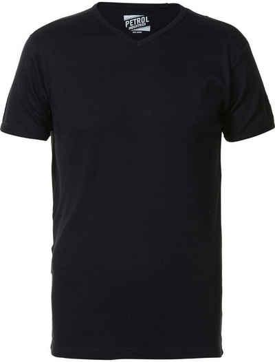 Petrol Industries T-Shirt mit V-Ausschnitt