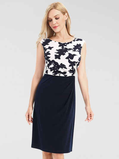 Apart Jerseykleid stilisierter Blüten-Print