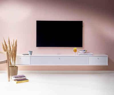 hammel Media-Board »MISTRAL«, Korpus mit glatter Oberfläche, Klapptür mit Akustikstoff, Danish Design