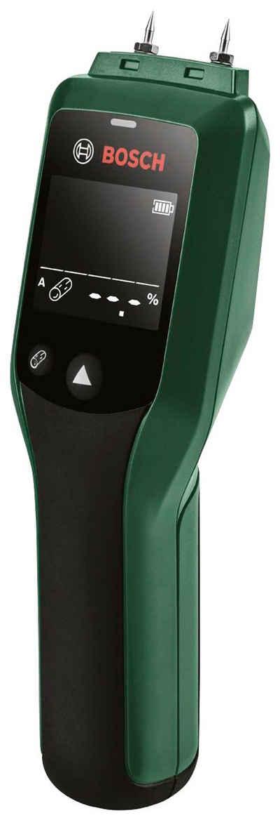 BOSCH Feuchtigkeitsmesser »UniversalHumid«, mit 2 Speicherplätzen und LED-Display, inkl. Batterien