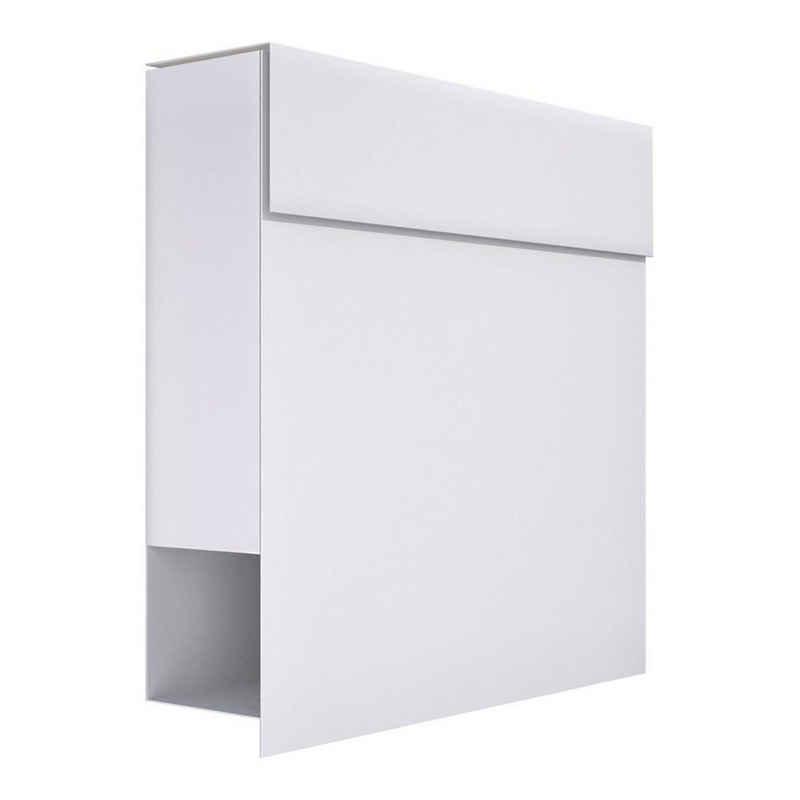 Bravios Briefkasten »Briefkasten Manhattan Weiß«