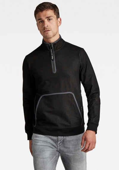 G-Star RAW Sweatshirt »Half zip bound tweeter«