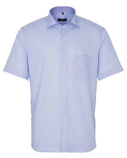 Eterna Hemd »Herren Hemd Modern Fit Kurzarm«